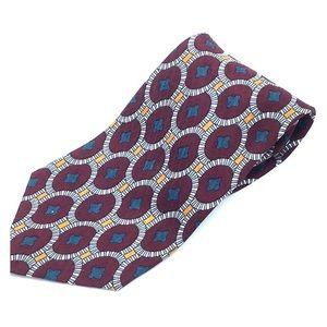 Liberty of London Silk Geometric Necktie Tie